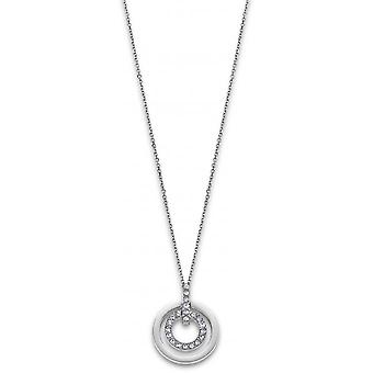 Necklace and pendant Lotus Style jewelry BLISS LS1868-1-1 - necklace and pendant BLISS steel woman