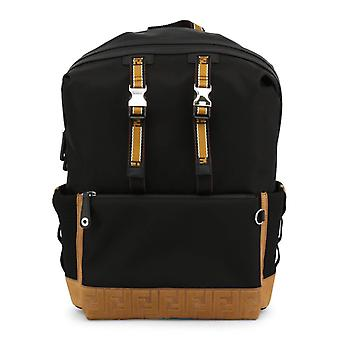 Fendi Unisex Black Rucksacks -- 7VZ0340848