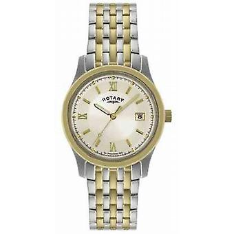 Rotary Mens Two-Tone Steel Bracelet GBI0793/09 Watch