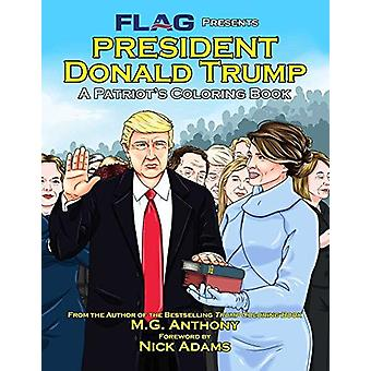 President Donald Trump - A Patriot's Coloring Book by M G Anthony - 97