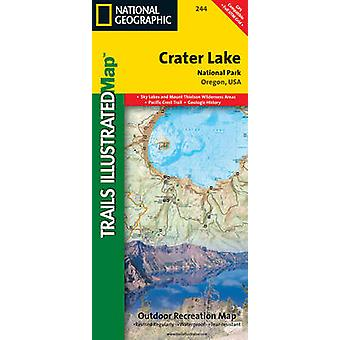 Crater Lake National Park - Trails Illustrated National Parks by Natio