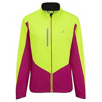 Ronhill Vizion Windlite Jacket Fluo Yellow/magenta Womens