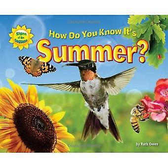 Hoe weet u dat het is zomer?