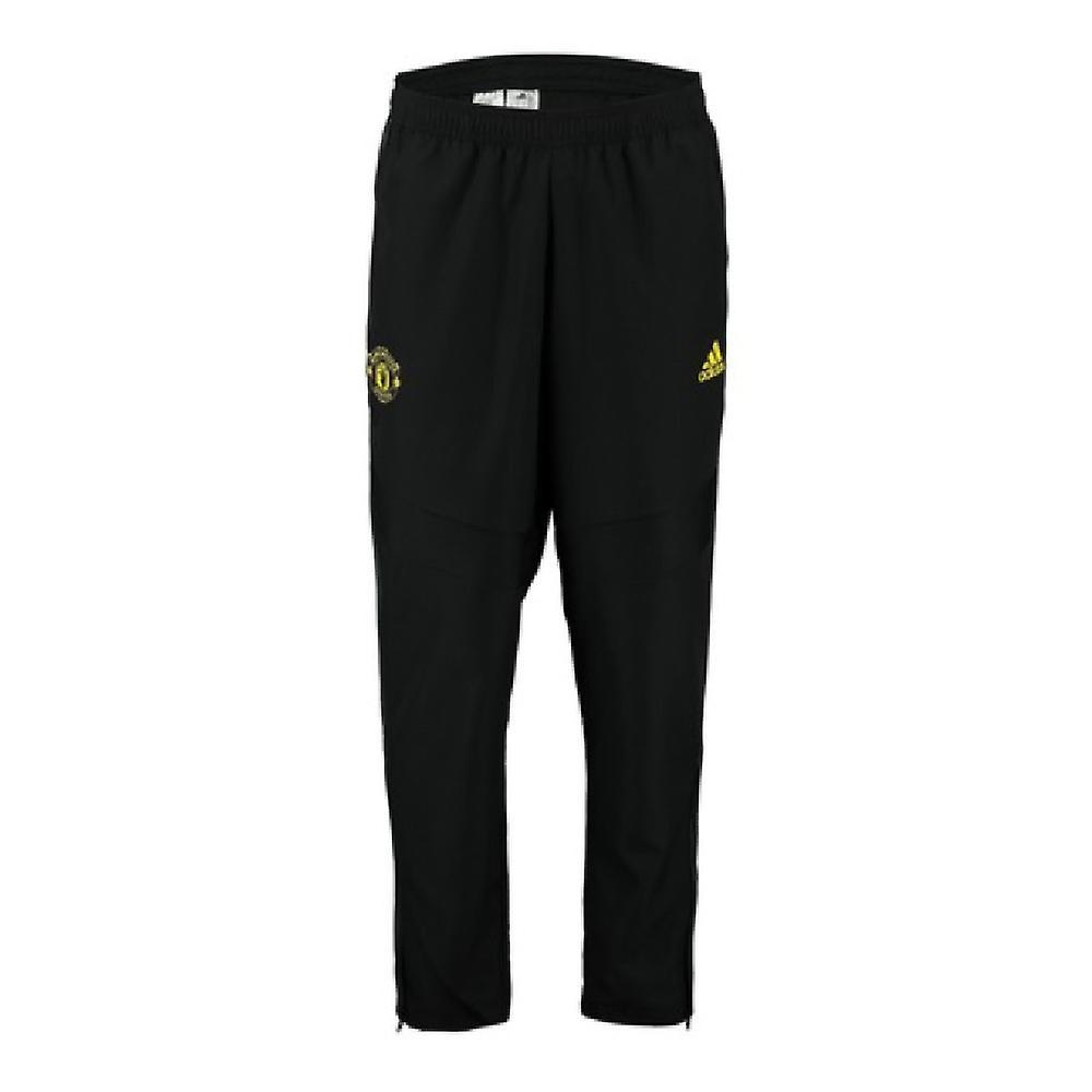 2019-2020 Man Utd Adidas Woven Pants (noir)