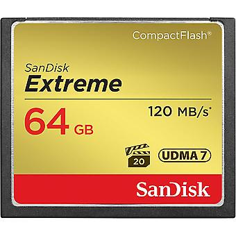 SanDisk 64GB Extreme CompactFlash Card
