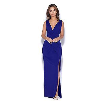 Jersey Wrap Waist Maxi Dress