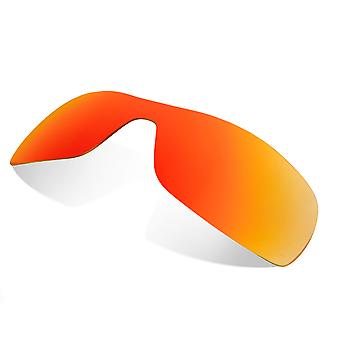 Replacement Lenses Compatible with OAKLEY Antix Non-Polarized Red Mirror