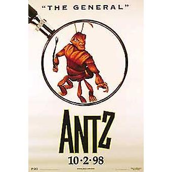 Antz (einseitig Stil C) Original Kino Poster