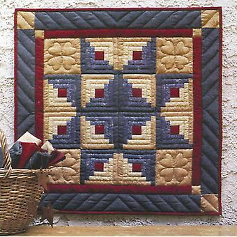 Log Cabin Star Wall Hanging Quilt Kit 22