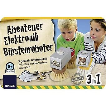 Science kit (set) Franzis Verlag Abenteuer Elektronik Bürsten Roboter 978-3-645-65239-1 8 years and over