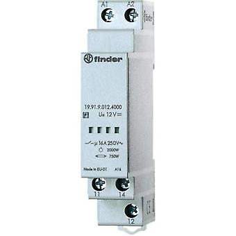 Power module for twilight switch 11.91, series 19.91.9.012.4000 Finder 19.91.9.012.4000 12 Vdc SPDT-CO (AC1, 230 V/AC)