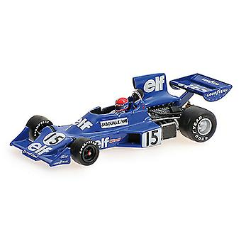 Ford Tyrrell 007 (Jean-Pierre Jabouille - 1975) coches modelo fundidos a troquel