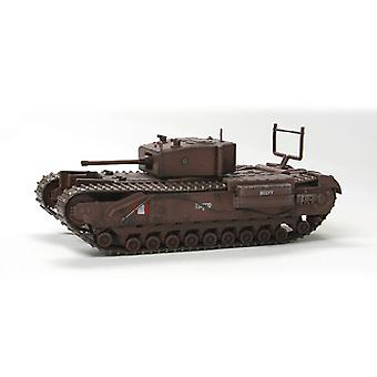 Churchill Mk III (Dieppe 1942) trykstøbt Model Tank