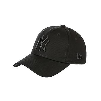Ny æra klassiske 39Thirty New York Yankees Cap - svart / svart
