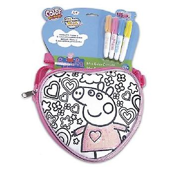 Cife Sequeen Bag Spring / Pepa Pig Heart