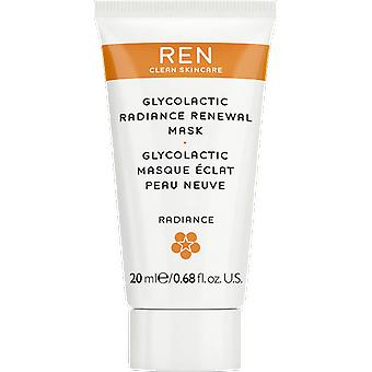 REN Glycolactic Radiance Renewal Mask Travel