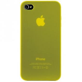 Ozaki iCoat Hard Cover case 0.4mm for iPhone 4 / iPhone 4S - yellow
