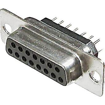 D-SUB receptacles 180 ° Number of pins: 25 Soldering ASSMANN WSW A-DF 25 PPZ 1 pc(s)