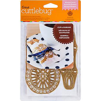 Cuttlebug A2 Cut & Emboss Die By Anna Griffin-Eleanor Laces 2002767
