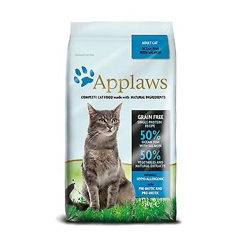 Applaws kat tør Ocean fisk med laks 350g (pakke med 6)