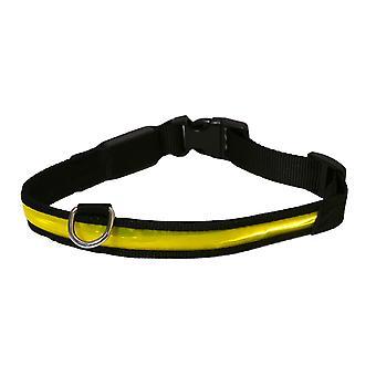 Premium Flashing Collar Yellow Small