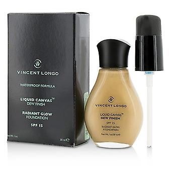 Vincent Longo Liquid Canvas Dew Finish Foundation SPF15 (Radiant Glow) - # 8 Natural (Unboxed) 30ml/1oz