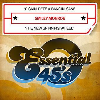 Smiley Monroe - Pickin Pete & Bangin Sam / New Spinning Wheel USA import