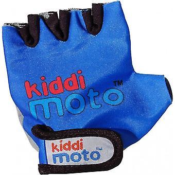 Kiddimoto ciclismo guanti blu