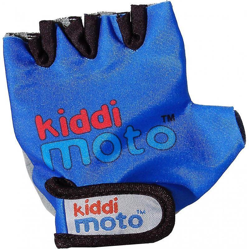 Kiddimoto Cycling Gloves Blue