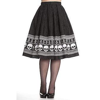 Hell Bunny Clara Skirt M