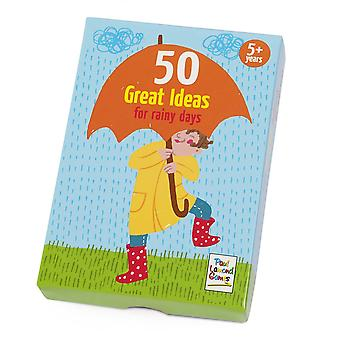 50 Great Ideas for Rainy Days Activity Cards Age 5+