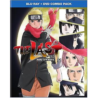 Sidste: Naruto Movie [Blu-ray] USA importerer