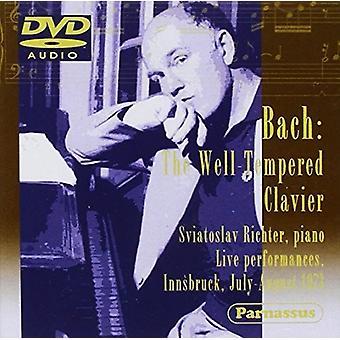 Sviatoslav Richter (klaver) - Bach JS: 48 Præludier & Fugues-Live [DVD-Audio] USA importerer
