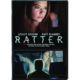 Ratter [DVD] USA import