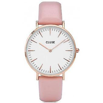 Watch Cluse Bohemia CL18014 - Slim mixed pink