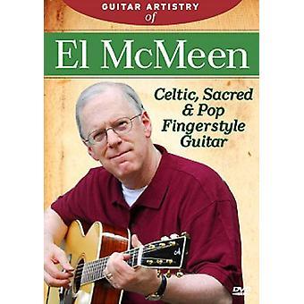 El McMeen - Guitar artisteri af El McMeen [DVD] USA import
