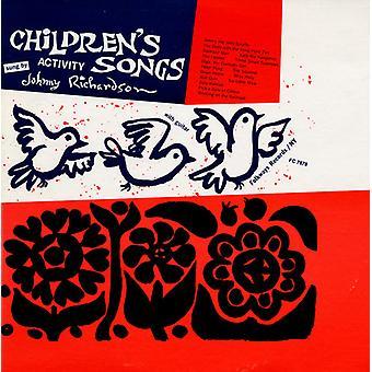 Johnny Richardson - Children's Activity Songs [CD] USA import