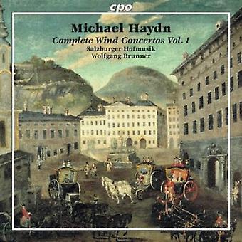 J. Haydn - Michael Haydn: Complete Wind Concertos, Vol. 1 [CD] USA import