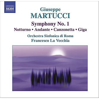 G. Martucci - Giuseppe Martucci: Symphony No. 1; Notturno; Andante, and Others [CD] USA import
