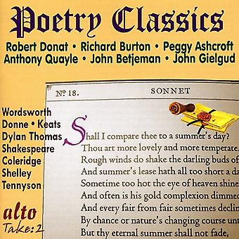 Poetry Classics-Great Voices - Poetry Classics-Great Voices [CD] USA import