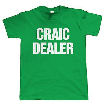 Vectorbomb, Craic Dealer, Mens Funny Irish Tshirt (S to 5XL)
