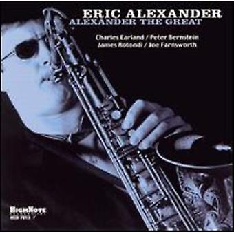 Eric Alexander - Alexander den store [CD] USA import