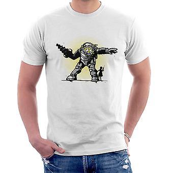 Pair Bond Big Daddy Little Sister BioShock Men's T-Shirt