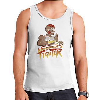 Non Violent Fighter Gandhi Street Fighter Men's Vest