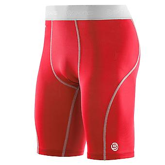SKINS Carbonyte Mens Half Tights [Red]