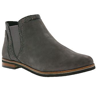 CAPRICE shoes ladies leather Chelsea boots gray 9-25304-29 255