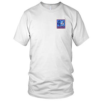 NASA - SP-251 NASA 40 Year Commemorative Pioneers In Space Embroidered Patch - Ladies T Shirt
