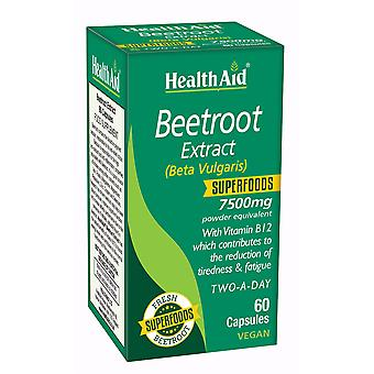 Health Aid Beetroot Extract 750mg 60's Capsules
