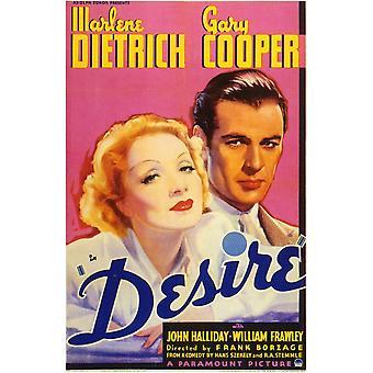 Desire Movie Poster (11 x 17)