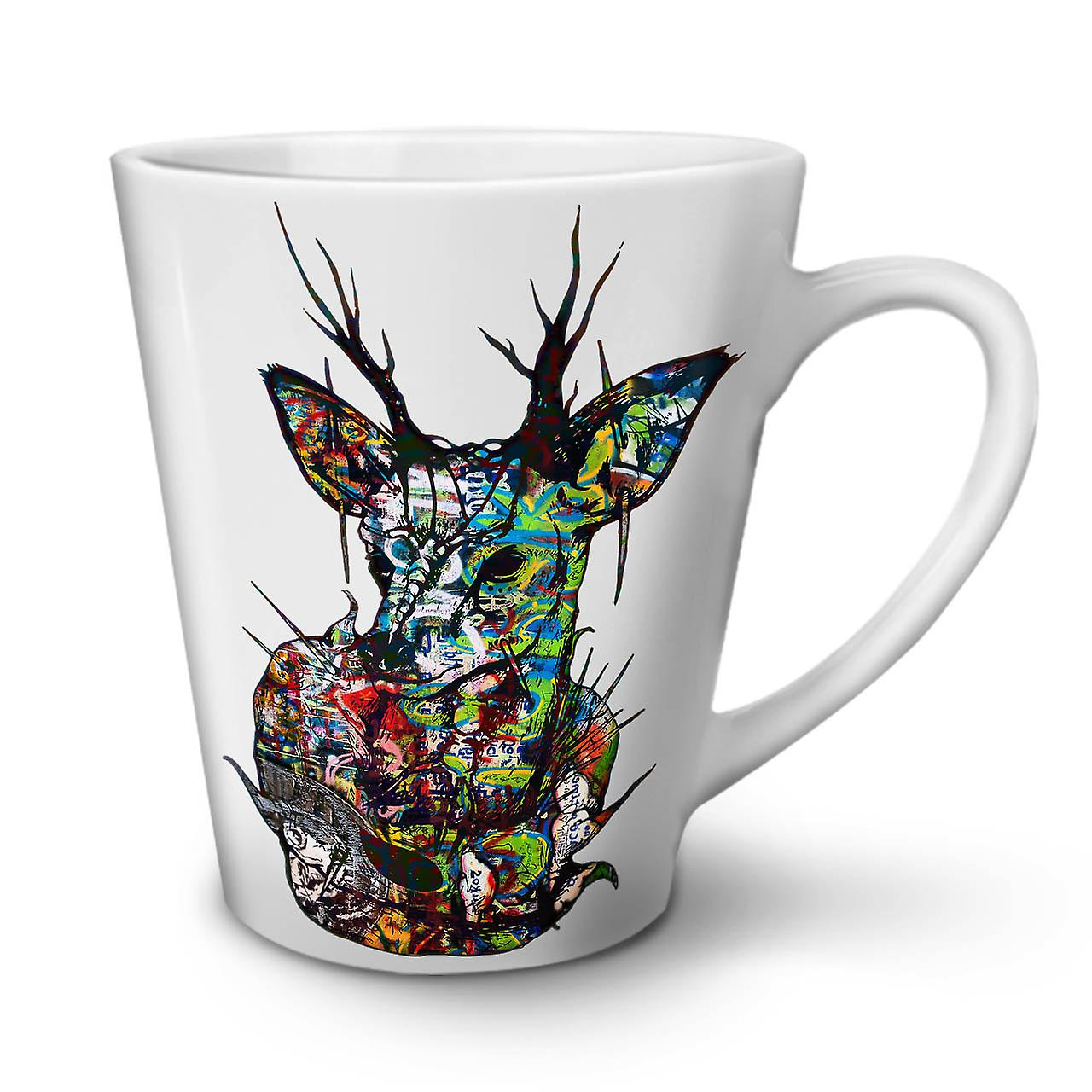 Nature Céramique Blanche En Nouvelle Psychédélique OzWellcoda Café Latte Tasse 12 vNw8n0mO